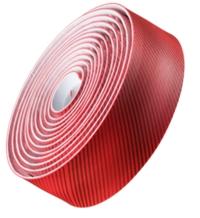 Bontrager Lenkerband Gel Cork Stripey Red - Bike Maniac