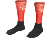 Aero-Socken Santini Trek-Segafredo Team XL/XXL Red - Bike Maniac