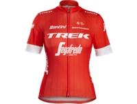 Trikot Santini Trek-Segafredo Replica Womens XS Red - Bike Maniac