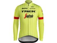 Trikot Santini Trek-Segafredo Team Thermo XS Yellow - Bike Maniac