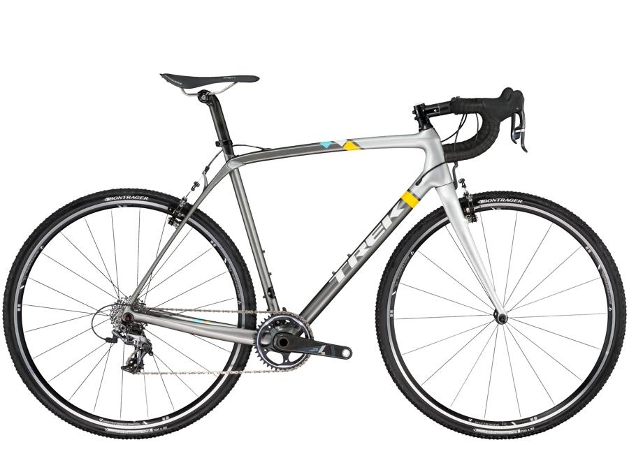 Trek Boone 7 56cm Charcoal/Bright Silver/Trek White - Trek Boone 7 56cm Charcoal/Bright Silver/Trek White