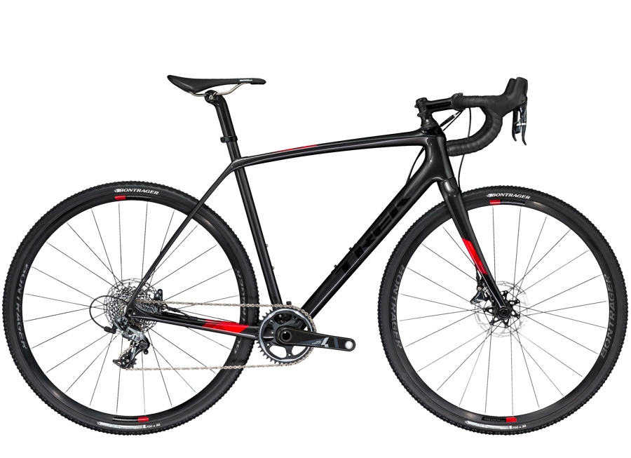 Trek Boone 7 Disc 47cm Dnister Black/Viper Red - Trek Boone 7 Disc 47cm Dnister Black/Viper Red
