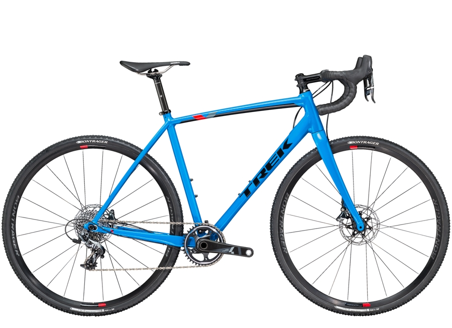 Trek Crockett 7 Disc 54cm Waterloo Blue/Trek Black - Trek Crockett 7 Disc 54cm Waterloo Blue/Trek Black