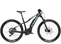 Trek Powerfly 7 Womens 14.5 (27.5) Matte Trek Black/Sprintmint - Veloteria Bike Shop