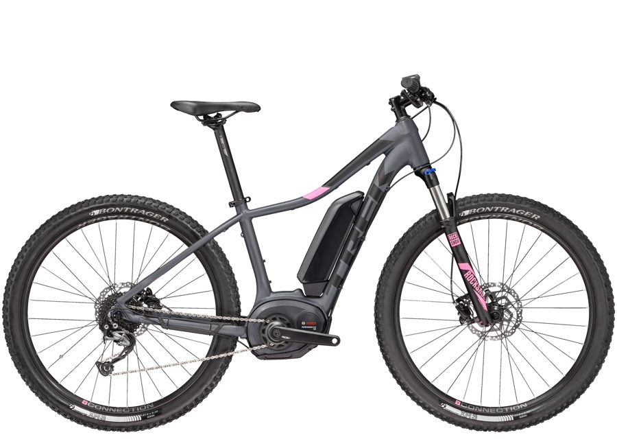 Trek Powerfly 4 Womens 17.5 Matte Solid Charcoal - Trek Powerfly 4 Womens 17.5 Matte Solid Charcoal