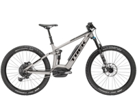 Trek Powerfly 9 FS Plus 17.5 Matte Metallic Gunmetal/Gloss Trek Black - Bike Zone