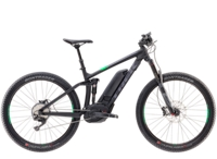 Trek Powerfly 8 FS Plus 15.5 Matte Trek Black/Green-light - Bikedreams & Dustbikes