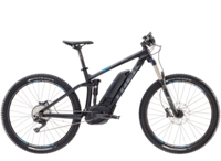 Trek Powerfly 7 FS 15.5 Matte Trek Black/Waterloo Blue - Bikedreams & Dustbikes