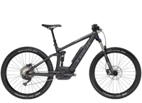Trek Powerfly 7 FS Plus 17.5 Matte Trek Black/Solid Charcoal - Bike Zone
