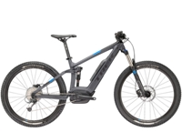 Trek Powerfly 5 FS 17.5 Matte Solid Charcoal/Trek Black - Bike Zone
