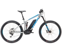 Trek Powerfly 8 LT Plus 17.5 Matte Quicksilver/Waterloo Blue - Schmiko-Sport Radsporthaus