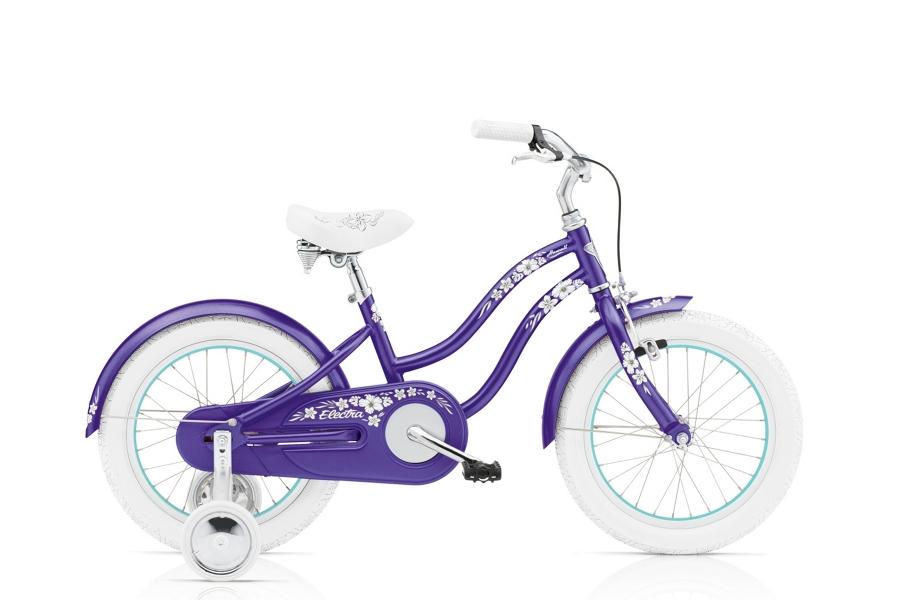 Electra Hawaii 1 16in Girls 16 wheel Purple Metallic - Electra Hawaii 1 16in Girls 16 wheel Purple Metallic