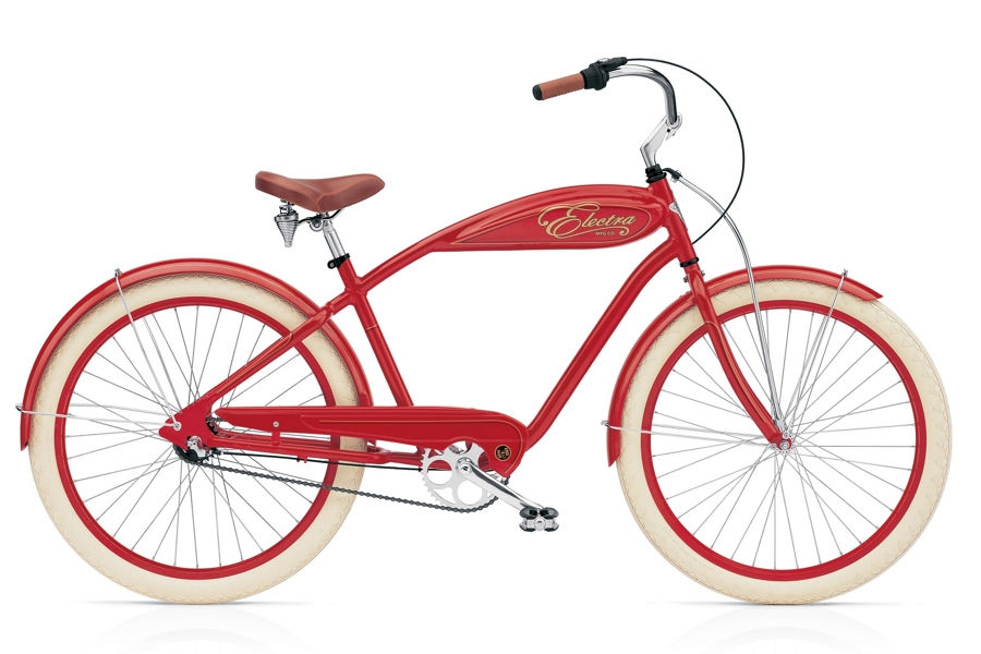 Electra indy 3i Mens 26 wheel Red - Electra indy 3i Mens 26 wheel Red