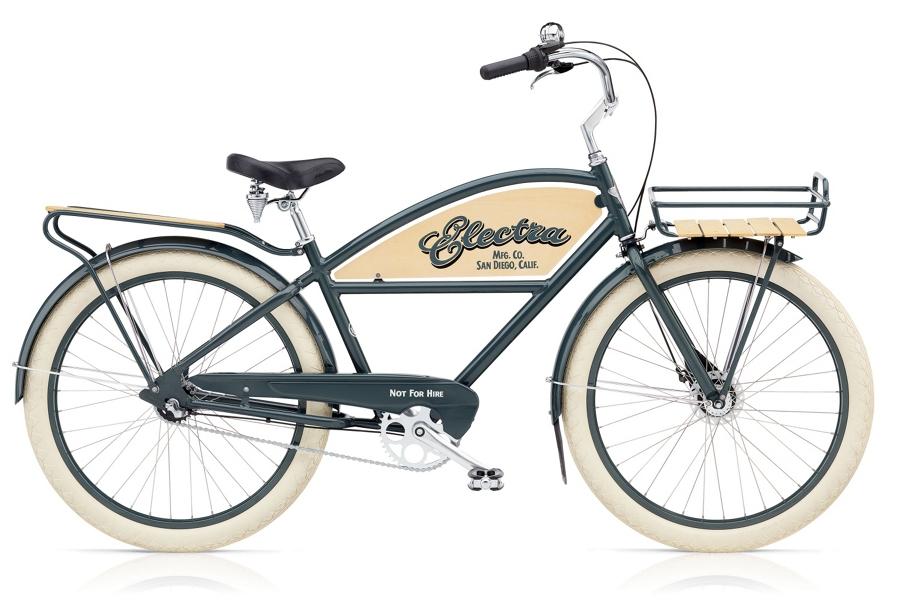 Electra DELIVERY 3i Mens 26 wheel Chicago Grey - Electra DELIVERY 3i Mens 26 wheel Chicago Grey