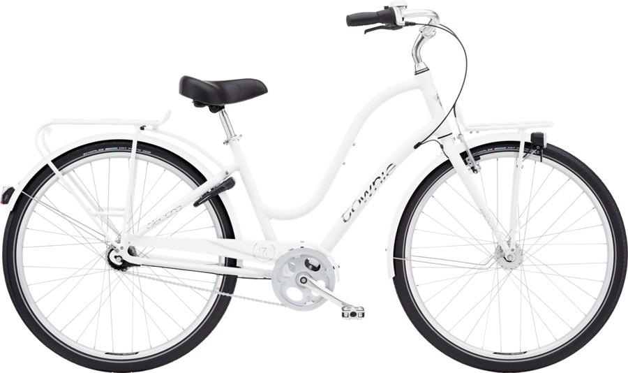 Electra Townie Commute 7i EQ Ladies M WHITE - Electra Townie Commute 7i EQ Ladies M WHITE
