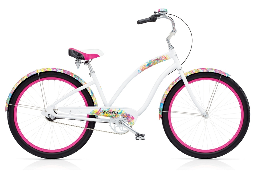Electra Chroma 3i Ladies 26 wheel White - Electra Chroma 3i Ladies 26 wheel White