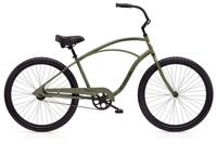 Electra Cruiser 1 Mens NON-US 26 wheel tall Matte Khaki - Fahrräder, Fahrradteile und Fahrradzubehör online kaufen   Allgäu Bike Sports Onlineshop