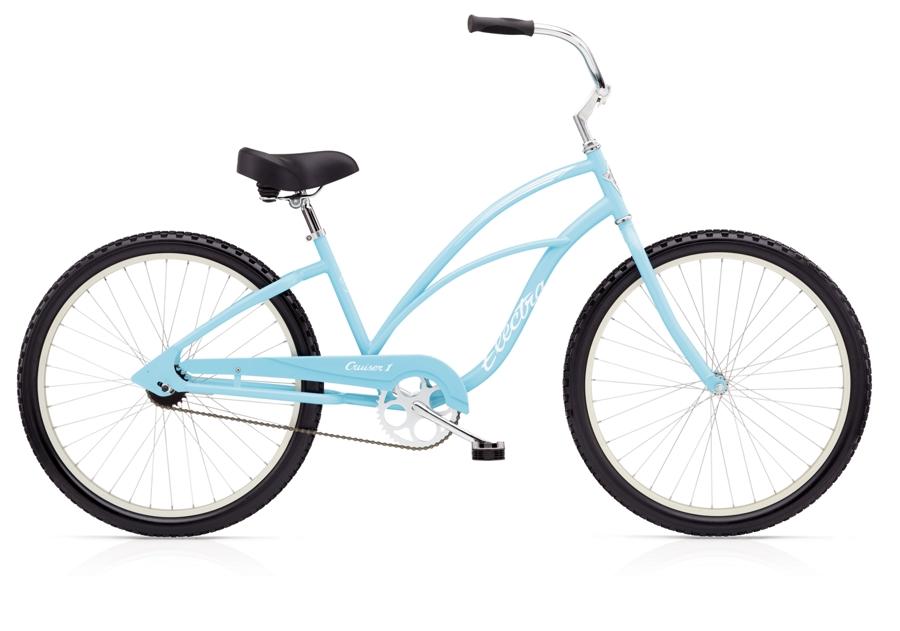 Electra Cruiser 1 Ladies 26 wheel Light Blue - Electra Cruiser 1 Ladies 26 wheel Light Blue