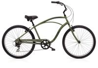 Electra Cruiser 7D Mens 26 wheel Matte Khaki - Fahrräder, Fahrradteile und Fahrradzubehör online kaufen   Allgäu Bike Sports Onlineshop