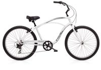 Electra Cruiser 7D Mens 26 wheel Silver - Fahrräder, Fahrradteile und Fahrradzubehör online kaufen   Allgäu Bike Sports Onlineshop
