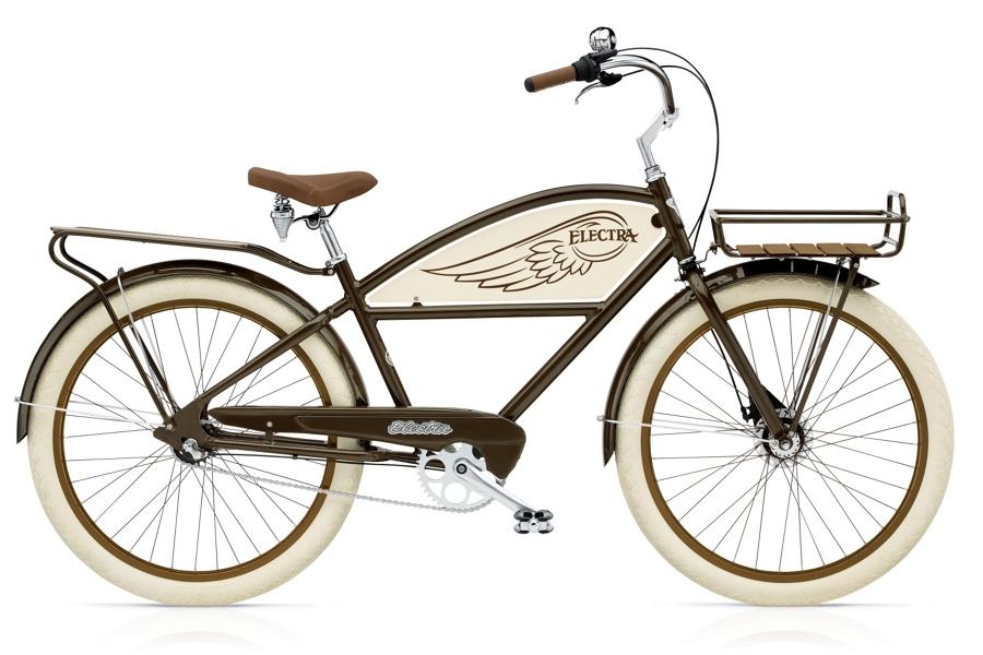 Electra Delivery 3i Mens 26 wheel Brown - Electra Delivery 3i Mens 26 wheel Brown