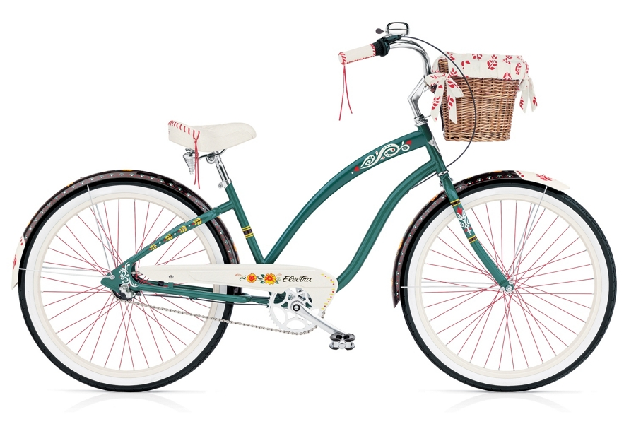 Electra Gypsy 3i Ladies 26 wheel Forest Green - Electra Gypsy 3i Ladies 26 wheel Forest Green