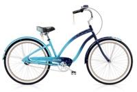 Electra Night Owl 3i Ladies 26 wheel Blue Fade - Rennrad kaufen & Mountainbike kaufen - bikecenter.de