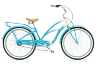 Electra Super Deluxe 3i Ladies 26 wheel Aqua/Cream - Rennrad kaufen & Mountainbike kaufen - bikecenter.de
