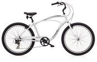 Electra Cruiser Lux 7D Mens 26 wheel Silver - Fahrräder, Fahrradteile und Fahrradzubehör online kaufen   Allgäu Bike Sports Onlineshop