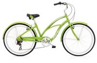 Electra Cruiser Lux 7D Ladies 26 wheel Green Metallic - Fahrräder, Fahrradteile und Fahrradzubehör online kaufen   Allgäu Bike Sports Onlineshop
