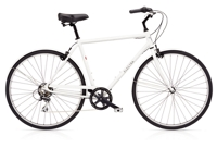 Electra Loft 7D Mens M Matte White - 2-Rad-Sport Wehrle