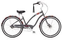 Electra Wild Flower 3i Ladies 26 wheel Dark Grey Metallic - Fahrräder, Fahrradteile und Fahrradzubehör online kaufen | Allgäu Bike Sports Onlineshop