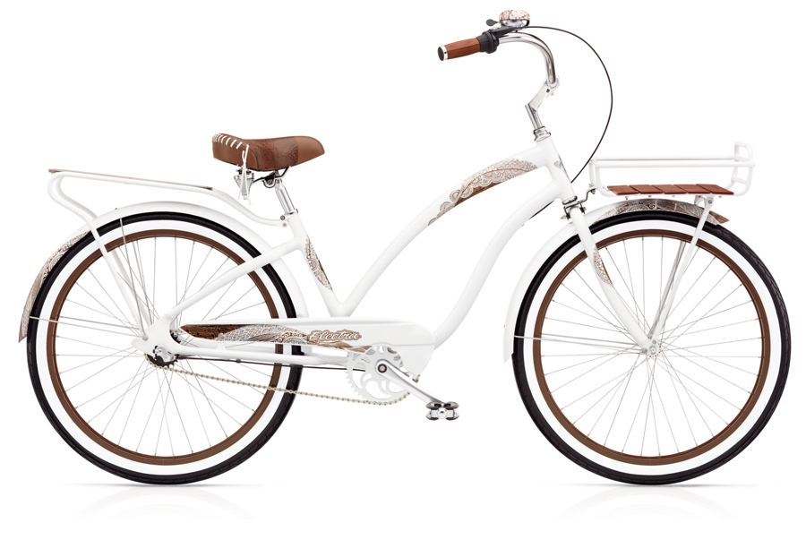 Electra Koa 3i Ladies 26 wheel White - Electra Koa 3i Ladies 26 wheel White