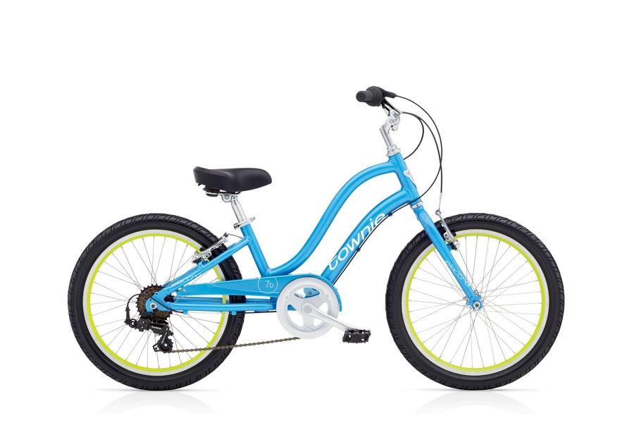 Electra Townie 7D 20in Girls 20 wheel Blue Topaz - Electra Townie 7D 20in Girls 20 wheel Blue Topaz