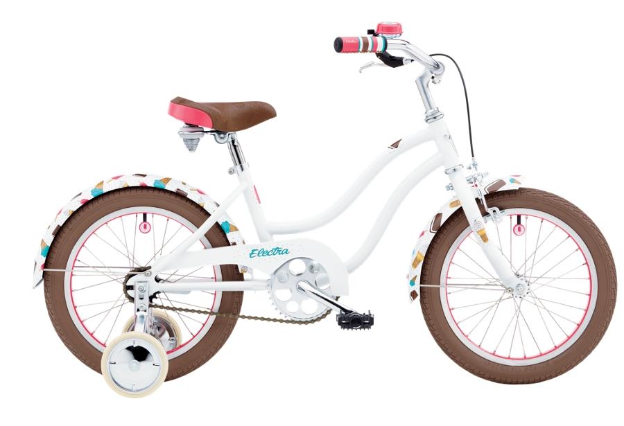 Electra Soft Serve 1 16in Girls 16 wheel White - Electra Soft Serve 1 16in Girls 16 wheel White