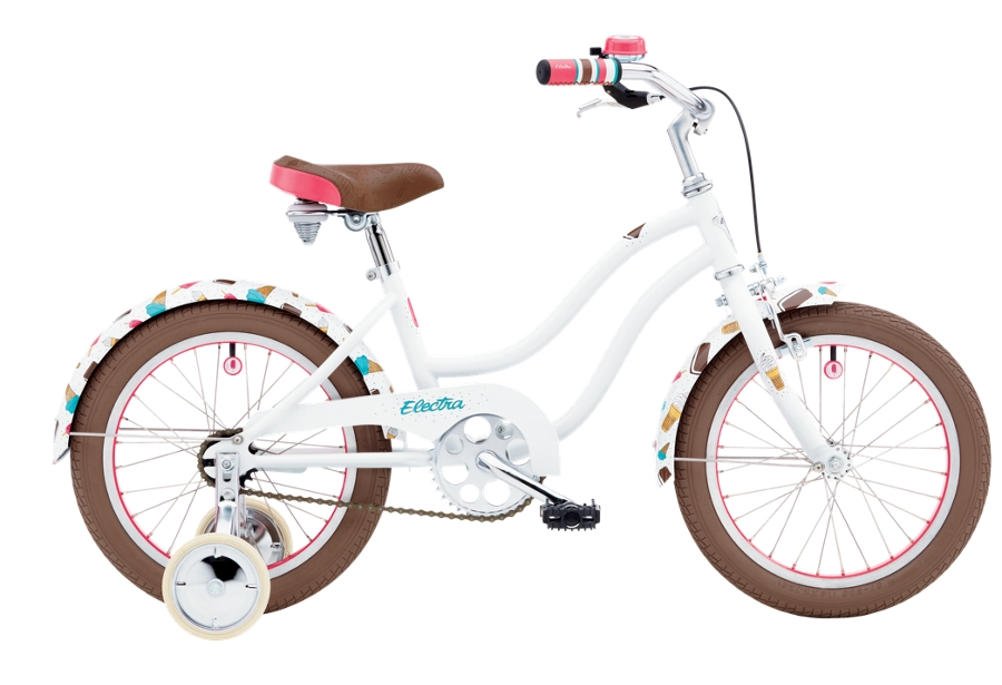 Electra Soft Serve 1 16in Girls 16 wheel White - Electra Soft Serve 1 16in Girls 16 wheel White