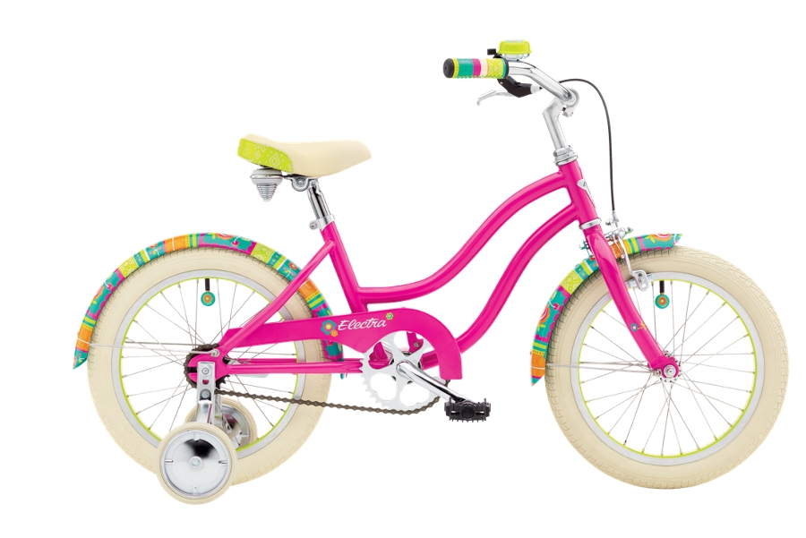 Electra Water Lily 1 16in Girls 16 wheel Bright Pink - Electra Water Lily 1 16in Girls 16 wheel Bright Pink
