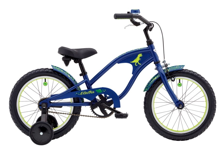 Electra Cyclosaurus 1 16in Boys 16 wheel Dark Blue - Electra Cyclosaurus 1 16in Boys 16 wheel Dark Blue