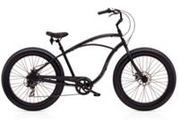 Electra Lux Fat 7D Mens 26 Black Satin - 2-Rad-Sport Wehrle