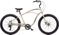 Electra Lux Fat 7D Mens 26 Matte Titanium - 2-Rad-Sport Wehrle