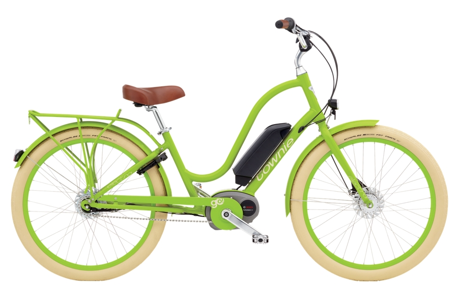 Electra Townie Go! 8i Ladies 26 Lime - Electra Townie Go! 8i Ladies 26 Lime