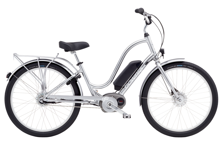 Electra Townie Go! 8i Ladies 26 Polished Silver - Electra Townie Go! 8i Ladies 26 Polished Silver