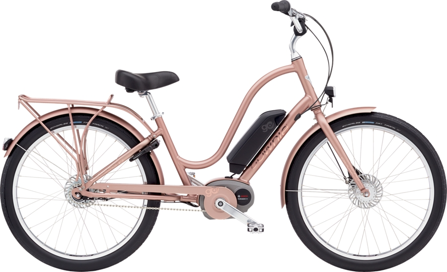 Electra Townie Go! 8i Ladies 26 Rose Gold - Electra Townie Go! 8i Ladies 26 Rose Gold