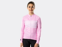 Bontrager Trikot Circuit Long Sleeve Womens XS Pink - Bike Maniac