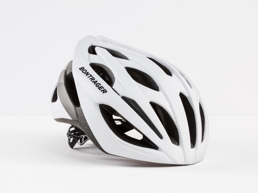 Bontrager Helmet Starvos MIPS White/Silver Medium CE - Bontrager Helmet Starvos MIPS White/Silver Medium CE