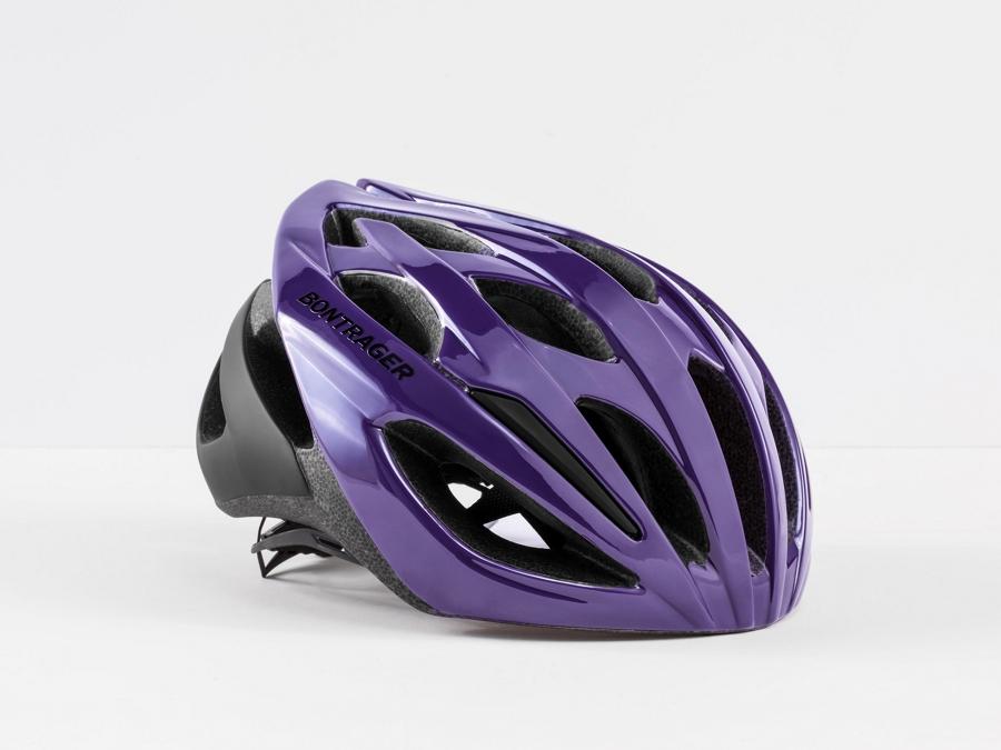 Bontrager Helm Starvos S Purple Lotus CE - Bontrager Helm Starvos S Purple Lotus CE