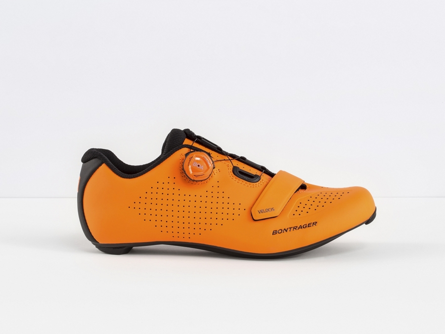 Bontrager Schuh Velocis Men 43 Radioactive Orange - Bontrager Schuh Velocis Men 43 Radioactive Orange