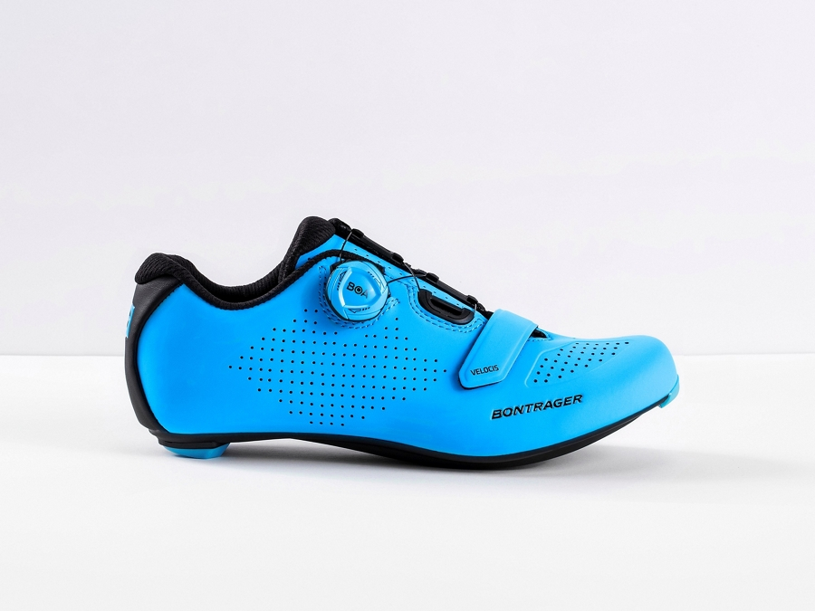 Bontrager Schuh Velocis Men 45 Waterloo Blue - Bontrager Schuh Velocis Men 45 Waterloo Blue