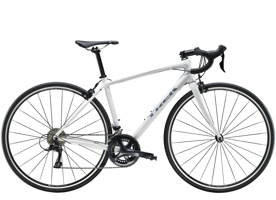 Trek Domane AL 3 Womens 47 Crystal White - Trek Domane AL 3 Womens 47 Crystal White