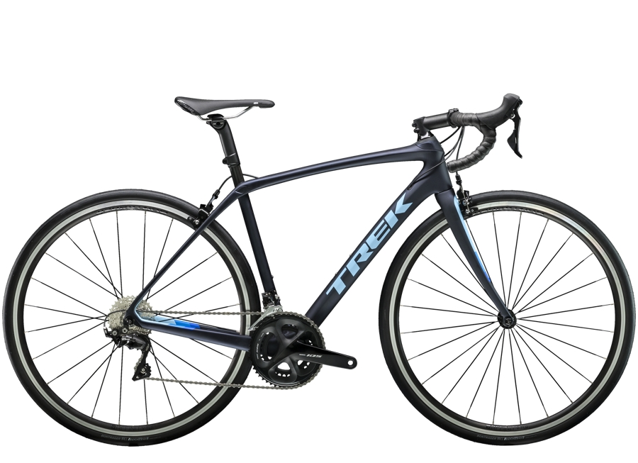 Trek Domane SL 5 Womens 52 Matte Deep Dark Blue/Azure - Trek Domane SL 5 Womens 52 Matte Deep Dark Blue/Azure